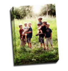 Image of Photos on Canvas 12 x 16 Gallery Wrap Canvas