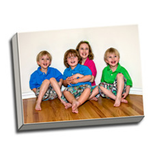Image of Photos on Canvas 16 x 12 Gallery Wrap Canvas