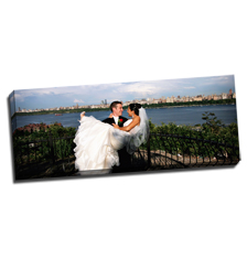 Image of Photos on Canvas 36 x 14 Gallery Wrap Canvas