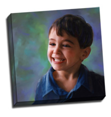 Image of Canvas Print 18 x18 Gallery Wrap