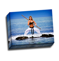 Image of Canvas Print 10 x 8 Gallery Wrap